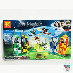"Конструктор Lele Justice Magician 39147 ""Матч по квиддичу"" (Аналог Lego Harry Potter 75956) 540 деталей"
