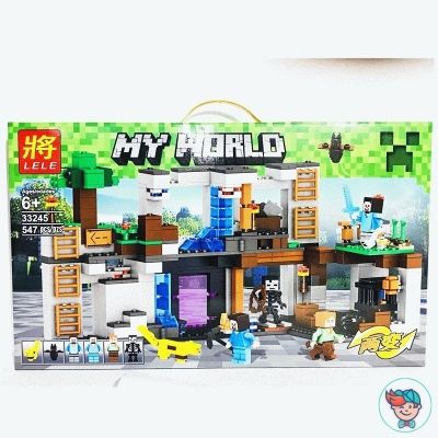 Конструктор Lele My World 33245 Офис (Аналог Lego) 547 деталей