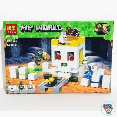 Конструктор Bela My World 10988 Арена-череп (Аналог Lego Minecraft 21145) 210 деталей