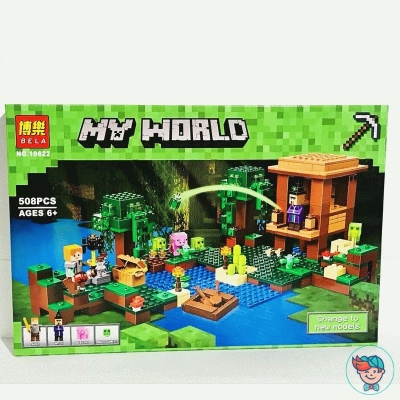 Конструктор Bela My World 10622 Хижина ведьмы (аналог Lego Minecraft 21133) 508 деталей