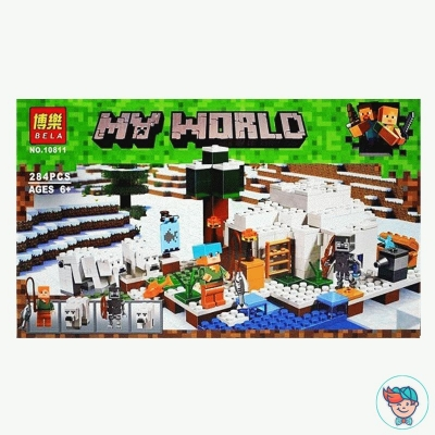Конструктор Bela My World 10811 Иглу (Аналог Lego Minecraft 21142) 278 деталей
