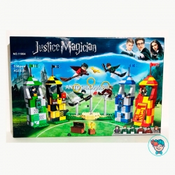Конструктор Bela/Lele Justice Magician 11004 (39147) Матч по квиддичу (Аналог Lego Harry Potter 75956) 536-540 деталей