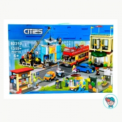 Конструктор BLX/Lepin Cities 82310 (02114) Столица (Аналог City 60200) 1355 деталей