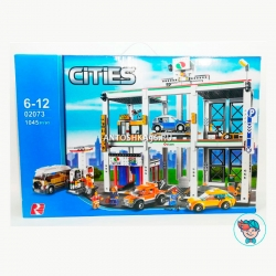 Конструктор Lepin Cities 02073 Городской гараж (Аналог Lego City 4207) 1045 деталей