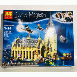Конструктор Lele Justice Magician 39144 Большой зал Хогвартса (Аналог Lego Harry Potter 75954) 926 деталей