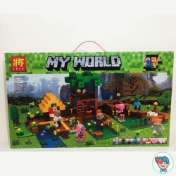 Конструктор Lele My World 33286 Ферма 556 деталей