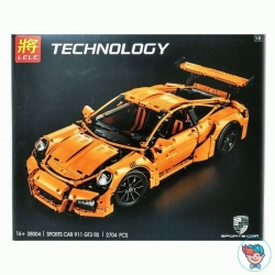 Конструктор Lele Technology 38004 Porsche 911 GT3 RS (Аналог Lego Technic 42056) 2704 деталей